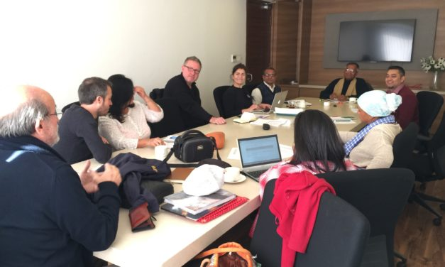 Nepal international movement dialogue and knowledge exchange trip January 2018