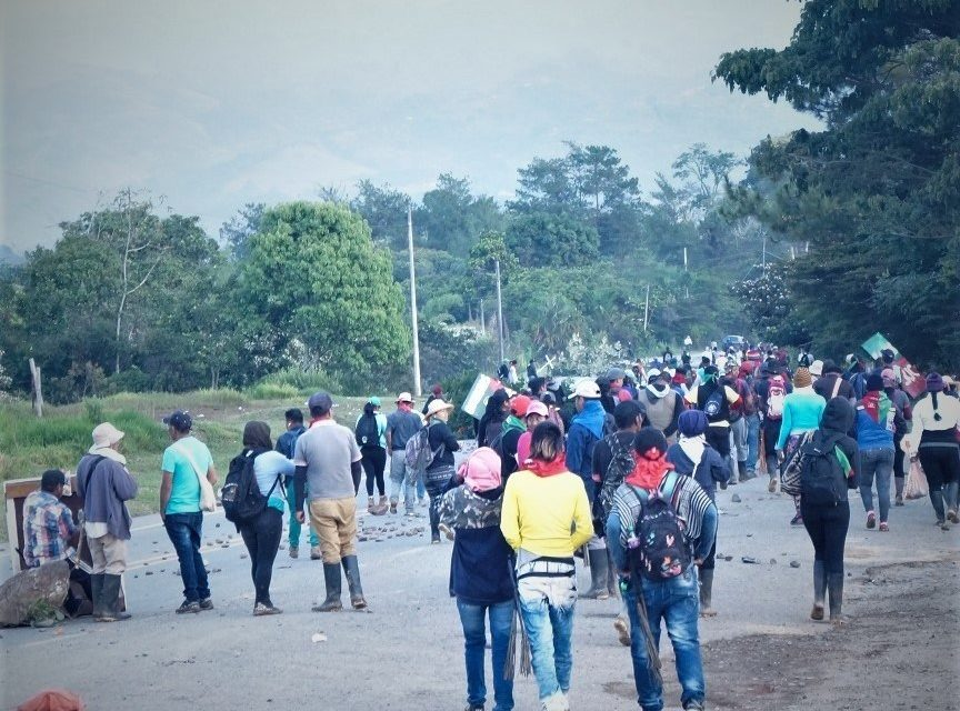 Social movements from 9 countries write to Colombian president in support of Minga protests